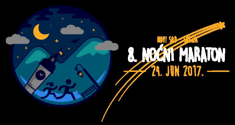 8. Noćni maraton 2017. Novi Sad, Srbija